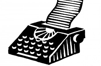 Typewriter by Iain McIntosh