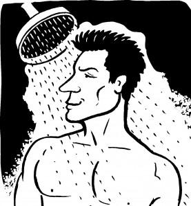 15 bruce in shower