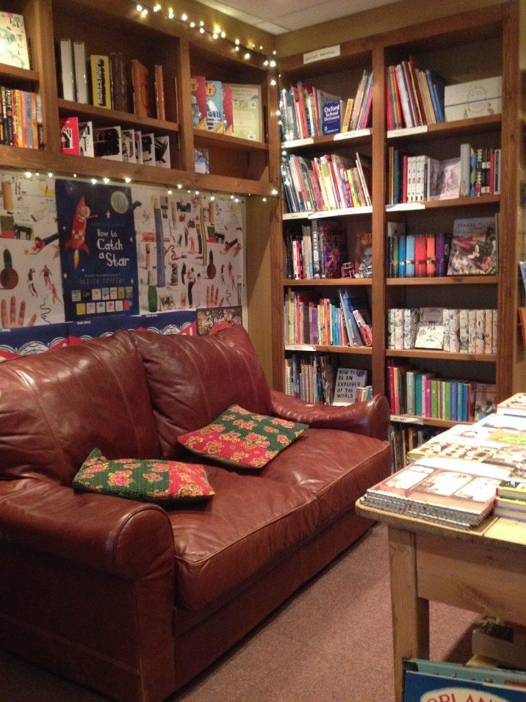 The Yellow-lighted bookshop, Tetbury